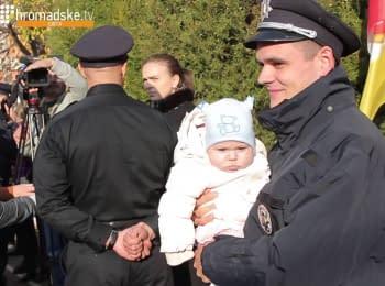 Більше 300 нових поліцейських склали присягу в Одесі