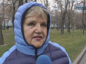 """Москвичи: """"Ради России - поголодаем!"""""""