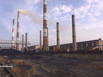 ТЕС у Щасті продовжує постачати електроенергію на окуповану територію
