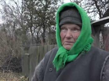 Баба Аня из села Водяное Донецкой области о Путине