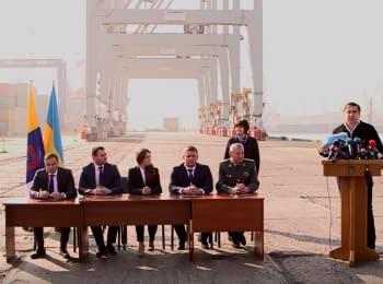 Реформи на Одеській митниці - підписання нового Меморандуму для припинення корупції