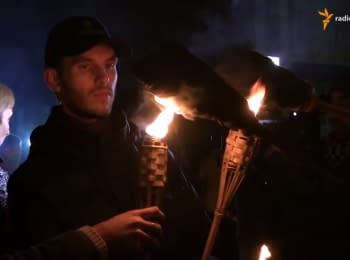 "Torchlight procession in memory of the youngest fallen ""cyborg"" took place in Sumy"