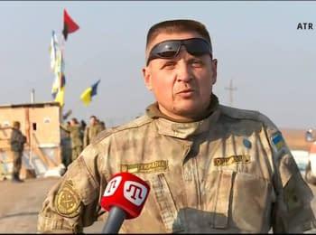 """""""Окупанти злякалися"""" - активіст про установку прапорів на кордоні з Кримом"""