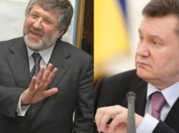 У мережі з'явився запис розмови, імовірно, Коломойського та Януковича під час Євромайдану