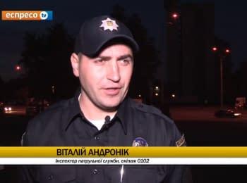 "Поліцейське реаліті-шоу ""Патруль"" від 09.11.2015"