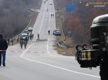 На Запоріжжі розбився Су-25