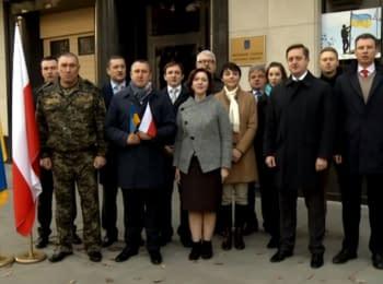 Привітання від українських дипломатів з нагоди Дня незалежності Республіки Польші