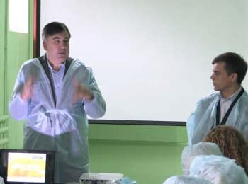 Mikheil Saakashvili visited Zhytomyr