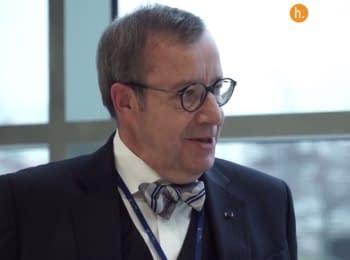 Президент Естонії про урок війни на сході України