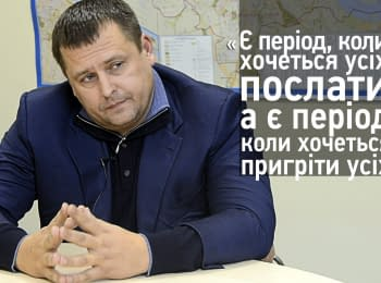 Boris Filatov (Interview. Elections 2015)