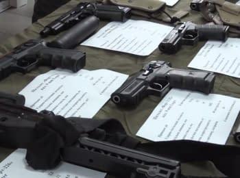 На полігоні Нацгвардії презентували новітнє озброєння