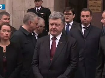 Ukraine stands side by side with France in the fight against international terrorism, - Poroshenko