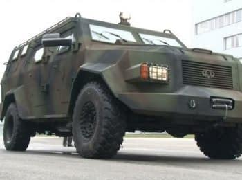 В Черкассах сделали новый украинский броневик