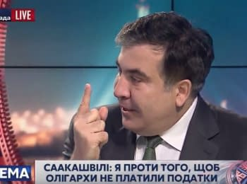 """Міхеїл Саакашвілі. Інтерв'ю """"112 Україна"""", 19.11.2015"""