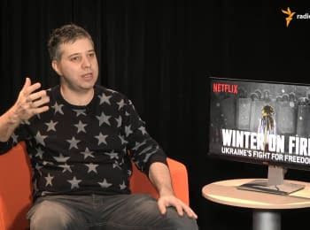 """This large family of Maidan... I have never seen anything similar - director of """"Winter on Fire"""""""