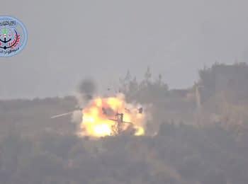 Сирійські повстанці знищили російський рятувальний гелікоптер