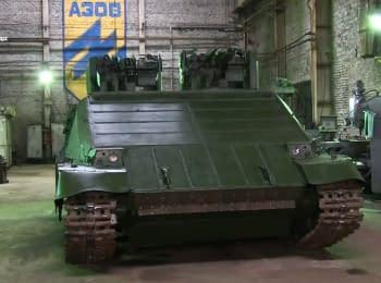 """На базі """"Азову"""" презентували новий """"міський танк"""""""
