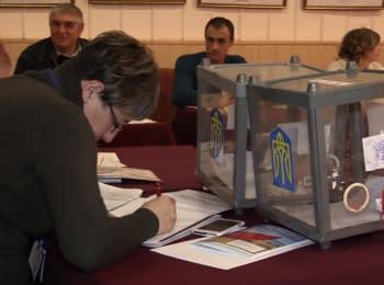 В Мариуполе проходят выборы в городской совет