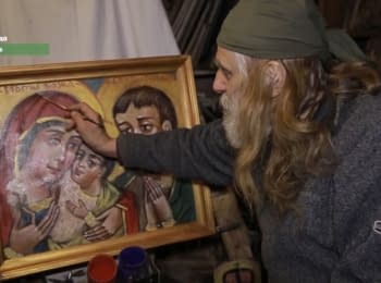 "Icon painter from the Maidan: ""I survived, young people died"""