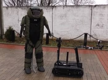 Канада подарувала Україні роботів для розмінування