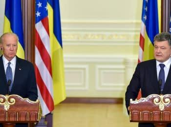 Заяви Президента Порошенка та Віце-президента США Дж. Байдена
