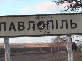 OSCE Mission in frontline Pavlopil