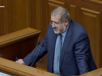 """Energy blockade of Crimea is temporarily suspended"" - Chubarov"