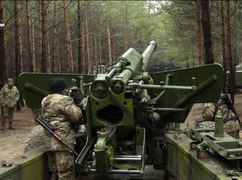 Пушка «Гиацинт-Б» готова к бою