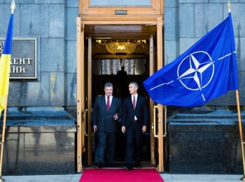 """Your Freedom"" What prevents Ukraine to go to NATO - Russia, war, NATO or unreadiness?"