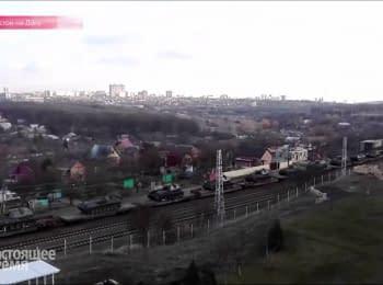 Танки снова едут из Ростова к украинской границе