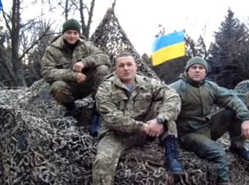 Congratulations on St. Nicholas Day from ukrainian soldiers