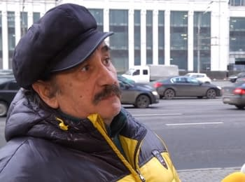 "Muscovites answer the question: ""What's the reason of new sanctions against Russia?"""
