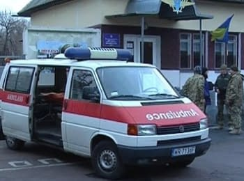 Crimean citizen presented an ambulance to soldiers of the 95th brigade