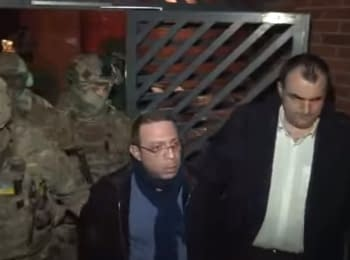 Нічне затримання Геннадія Корбана, 25.12.2015