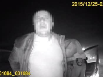 Патрульные преследовали пьяного ГАИшника 30 км. (18, нецензурная лексика