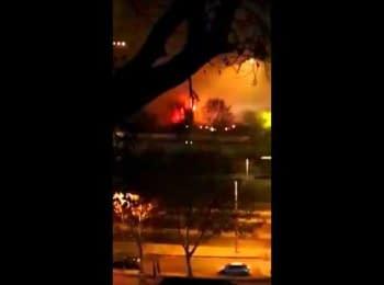 Видео взрыва украинского грузовика в Стамбуле