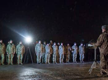 Президент Порошенко відвідав воїнів АТО на передовій