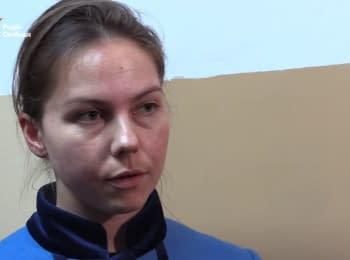 Вера Савченко пришла на судебное заседание над российскими спецназовцами