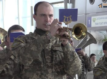 Commemorating defenders of the Donetsk Airport
