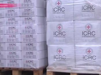 Червоний Хрест допомагає жителям прифронтового Новоазовська