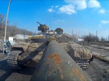 Selfie from tankmen of the 93rd Mechanized Brigade