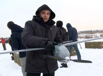 "Ukrainian production UAV ""Spectator"""