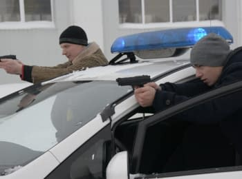 In Cherkasy future police officers started practical training