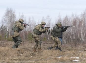 British School for Ukrainian fighters