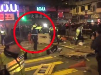 Протести в Гонконзі. Пряма трансляція