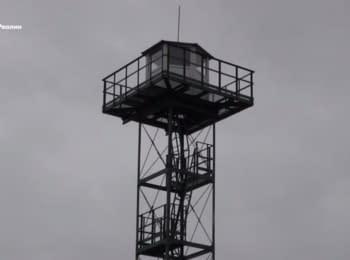 На кордоні з Кримом встановлені нові вежі спостереження