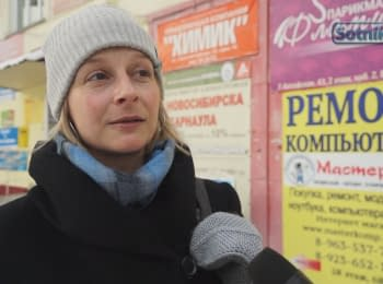 "Biysk' residents: ""Crisis is bad. Putin is good"""