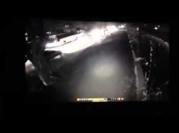 Видео момента взрыва автобуса в Турции, 17.02.2015