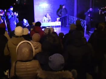 Piano Extremist in honor of Maidan