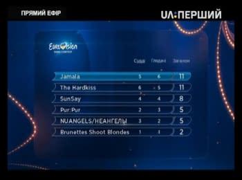 Jamala - winner of the Ukraine's national selection for Eurovision 2016
